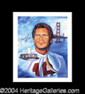 Autographs, Joe Montana Limited Edition Signed Lithograph