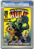 Magazines:Superhero, The Rampaging Hulk #6 (Marvel, 1977) CGC NM+ 9.6 Off-white to whitepages....
