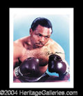 Autographs, Archie Moore Awesome Signed 16 x 20 Photo