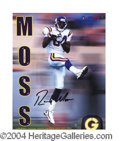Autographs, Randy Moss Limited Ed. Signed Photo