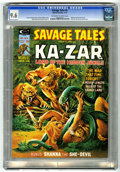 Magazines:Superhero, Savage Tales #8 (Marvel, 1975) CGC NM+ 9.6 Off-white to whitepages....