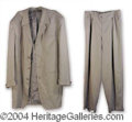 Autographs, Shaquille O' Neal Personally Owned & Worn Suit