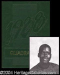 Autographs, Shaquille O' Neal Rare High School Yearbook