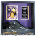Autographs, Shaquille O' Neal Game Worn & Signed Shoe PSA/DNA