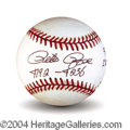 Autographs, Pete Rose Signed 4192 Record Breaker Baseball