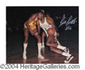 Autographs, Bill Russell Rare Signed 8 x 10 Photograph