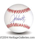 Autographs, John Smoltz In-Person Signed Baseball