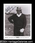 Autographs, Sam Snead Signed 8 x 10 Photograph PSA/DNA