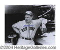 Autographs, Bill Terry HOF Signed 8 x 10 Photograph