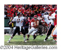 Autographs, Derrick Thomas Signed 11 x 14 Photograph