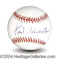 Autographs, Peter Ueberroth Signed Baseball