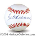 Autographs, Ted Williams Signed AL Baseball PSA/DNA