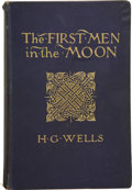 Books:First Editions, H.G. Wells. The First Men in the Moon. London: GeorgeNewnes, Limited, 1901. . ...