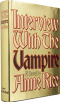 Books:First Editions, Anne Rice. Interview With The Vampire First Edition. NewYork: Alfred Knopf, 1976. ...
