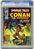 Magazines:Superhero, Savage Tales #3 (Marvel, 1974) CGC NM 9.4 Off-white to whitepages....