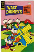 Bronze Age (1970-1979):Cartoon Character, Walt Disney's Comics and Stories #412 Signed by Carl Barks (GoldKey, 1975) Condition: FN....