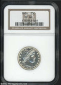 Proof Barber Quarters: , 1906 PR 66 NGC. ...