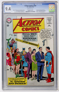 Action Comics #309 (DC, 1964) CGC NM 9.4 Off-white pages