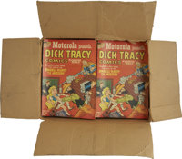 Dick Tracy Motorola Giveaway Distributors Pack Group (Harvey, 1953) Condition: Average VG.... (Total: 136 Comic Books)
