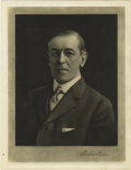 Autographs:U.S. Presidents, Woodrow Wilson Signed Portrait Etching....