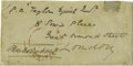 Autographs:Authors, Charles Dickens Signed Cover ...