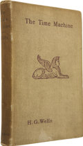 Books:First Editions, H.G. Wells. The Time Machine, An Invention. London: WilliamHeinemann, 1895. . ...