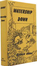 Books:First Editions, Richard Adams. Watership Down. London: Rex Collings, 1972.....
