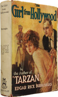 Books:First Editions, Edgar Rice Burroughs. The Girl from Hollywood. New York: TheMacaulay Company [1923]....
