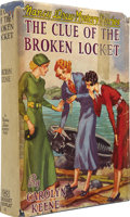 Books:Signed Editions, Carolyn Keene. The Clue of the Broken Locket. New York:Grosset & Dunlap Publishers, [1934]....