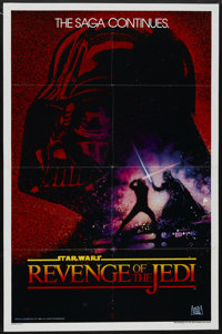 "Revenge of the Jedi (20th Century Fox, 1982). One Sheet (27"" X 41"") Advance Teaser. Science Fiction"