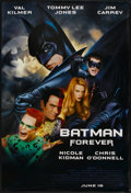 """Movie Posters:Action, Batman Forever Lot (Warner Brothers, 1995). One Sheets (2) (27"""" X 40"""") DS. Action.... (Total: 2 Items)"""