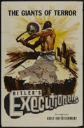 """Movie Posters:Documentary, The Executioners (Vitalite Films, 1959). One Sheet (27"""" X 41""""). Also known as Hitler's Executioners. Documentary...."""