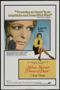 """Promise at Dawn (Avco Embassy, 1970). One Sheet (27"""" X 41""""). Drama"""