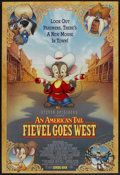 """Movie Posters:Animated, An American Tail: Fiefel Goes West (Universal, 1991). One Sheet(27"""" X 40"""") DS. Animated...."""