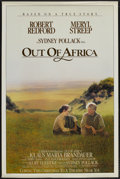 "Movie Posters:Academy Award Winner, Out of Africa (Warner Brothers, 1985). One Sheet (27"" X 41"").Academy Award Winner...."