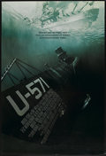 "Movie Posters:War, U-571 (Universal, 2000). One Sheet (27"" X 40"") DS. War...."