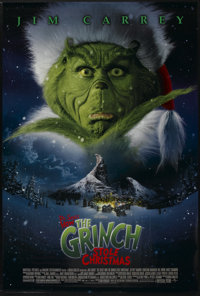 "How the Grinch Stole Christmas (Universal, 2000). One Sheet (27"" X 40"") DS. Family"