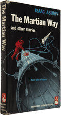 Books:Fiction, Isaac Asimov. The Martian Way and Other Stories. GardenCity, New York: Doubleday & Company, Inc., 1955. . ...