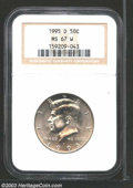 Kennedy Half Dollars: , 1995-D MS67 NGC. ...