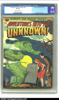 Golden Age (1938-1955):Horror, Adventures Into the Unknown #30 (ACG, 1952) CGC VF 8.0 Cream tooff-white pages. Ogden Whitney cover. Overstreet 2003 VF 8.0...