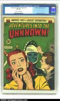 Golden Age (1938-1955):Horror, Adventures Into the Unknown #35 (ACG, 1952) CGC FN 6.0 Cream tooff-white pages. Ogden Whitney cover. Overstreet 2003 FN 6.0...