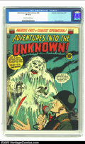 Golden Age (1938-1955):Horror, Adventures Into the Unknown #40 (ACG, 1953) CGC VF 8.0 Cream tooff-white pages. Harry Lazarus art. Overstreet 2003 VF 8.0 v...