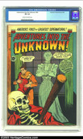 Golden Age (1938-1955):Horror, Adventures Into the Unknown #42 (ACG, 1953) CGC FN 6.0 Cream tooff-white pages. Overstreet 2003 FN 6.0 value = $57. From...