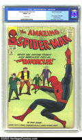Silver Age (1956-1969):Superhero, Amazing Spider-Man #10 (Marvel, 1964) CGC FN/VF 7.0 Off-white pages. First appearance of Big Man and the Enforcers; Steve Di...