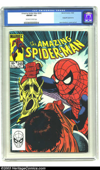 Amazing Spider-Man #245 (Marvel, 1983) CGC NM/MT 9.8 Off-white to white pages. Hobgoblin unmasked on cover. John Romita...