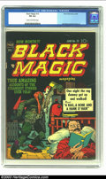 Golden Age (1938-1955):Horror, Black Magic #13 (Prize, 1952) CGC FN 6.0 Cream to off-white pages.Simon and Kirby art. Overstreet 2003 FN 6.0 value = $102....