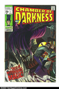 Silver Age (1956-1969):Horror, Chamber of Darkness #1 (Marvel, 1969) Condition: VF+. Beautifulfirst issue. Overstreet 2003 VF 8.0 value = $40; VF/NM 9.0 v...