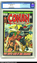 Bronze Age (1970-1979):Miscellaneous, Conan The Barbarian #17 (Marvel, 1972) CGC NM+ 9.6 Off-white towhite pages. Kane art, Kane and Brunner cover. Overstreet 20...