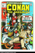 Bronze Age (1970-1979):Miscellaneous, Conan The Barbarian Group (Marvel, 1970s) Condition: Average VF8.0. Three issues of Conan the Barbarian, issues #2, #3 and ...(Total: 3 Comic Books Item)