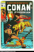 Bronze Age (1970-1979):Miscellaneous, Conan The Barbarian Group (Marvel, 1970s) Condition: Average VG4.0. Two issues of Conan the Barbarian, issues #5 and #7. Ea...(Total: 2 Comic Books Item)